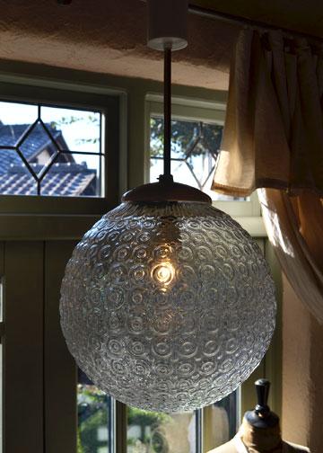 バルーンシェードランプ,インダストリアルライト,ガラスシェード照明,アンティーク照明,アンティークライト,フレンチアンティーク照明,通販5